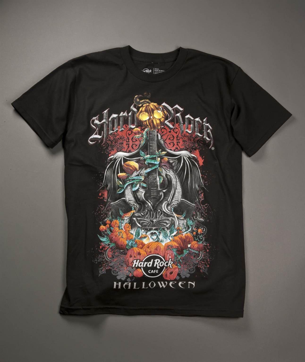 Cool graphic Hard Rock Halloween 2012 Mens Tshirt Hard