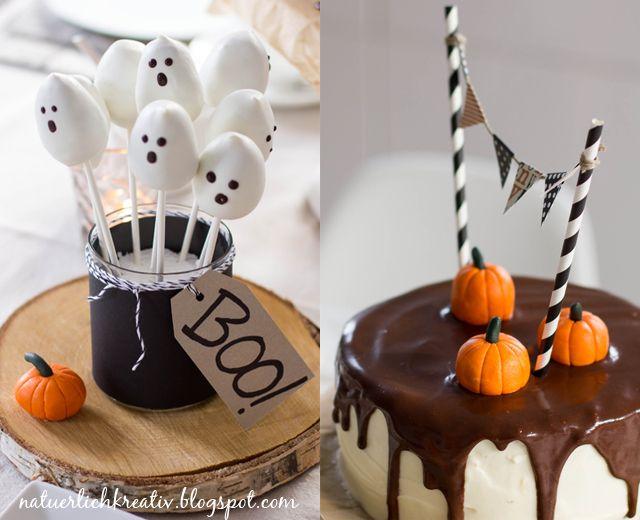 natuerlichkreativ: Halloween Sweet Table