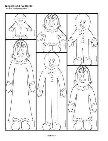 Gingerbread Measurement, Lesson Plans - The Mailbox