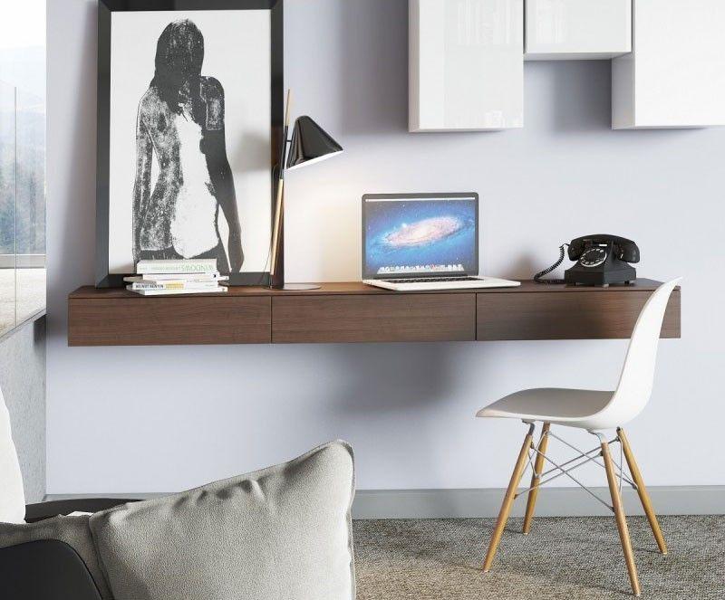 42 id es d co de bureau pour votre loft bureau bureau for Bureau mural design