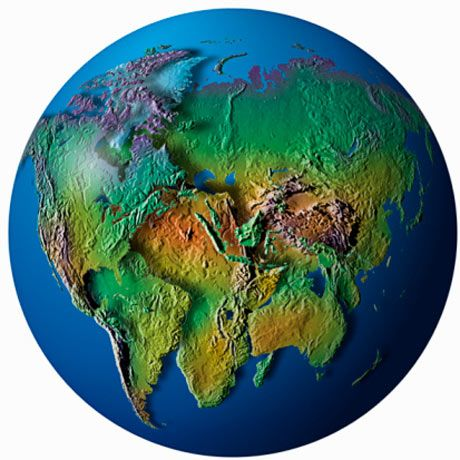 Supercontinent how the world is moving together geography and continents colliding is this how the world could look one day publicscrutiny Images