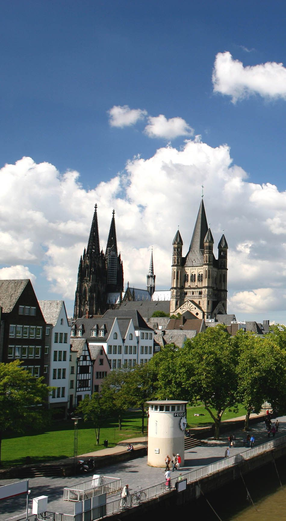 River Rhine and cathedral of Cologne, Germany | 23 Fascinating Photos that Will Remind You How Incredible Germany Is