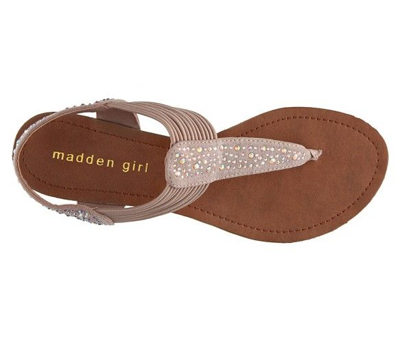 Bridal Shoes Dsw: Madden Girl Tanduum Sandal Women's Flat Sandals All Women