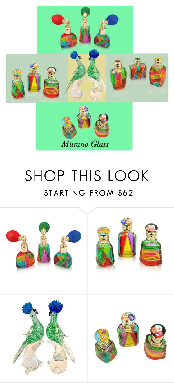 """Murano Glass!"" by lheijl ❤ liked on Polyvore featuring beauty and Due Zeta"