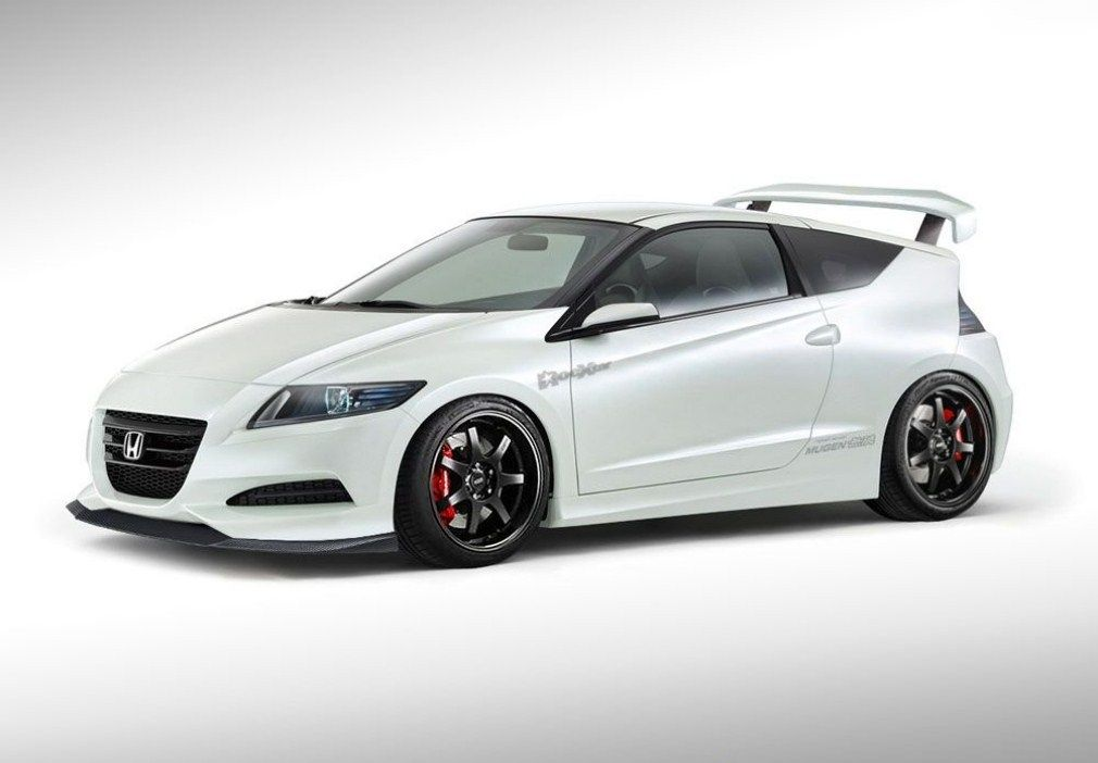 Honda Cr Z With Mugen Kit This Is My Goal But Carbon Fiber Hood And Vosen Rims