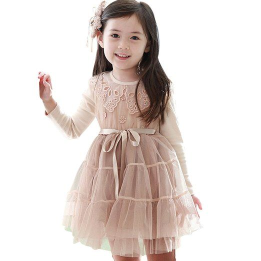 Girls Flower Lace Bow Skirt by Little Hand - Little Girl Fashion ...