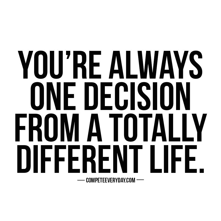 One Conversation One Interaction One Decision Can Change Your Life