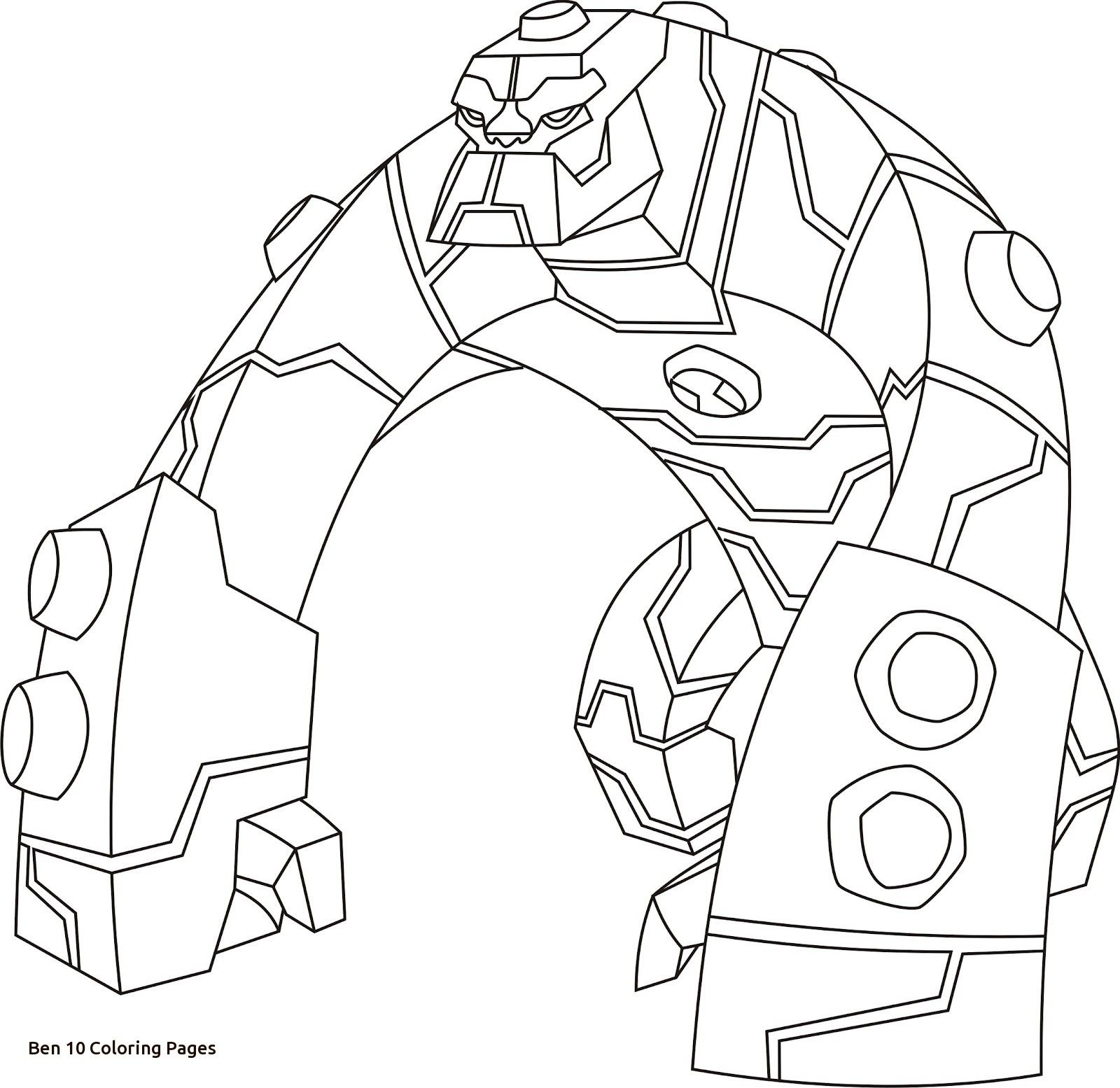 Free Coloring Pages Of Ben 10 Bloxx