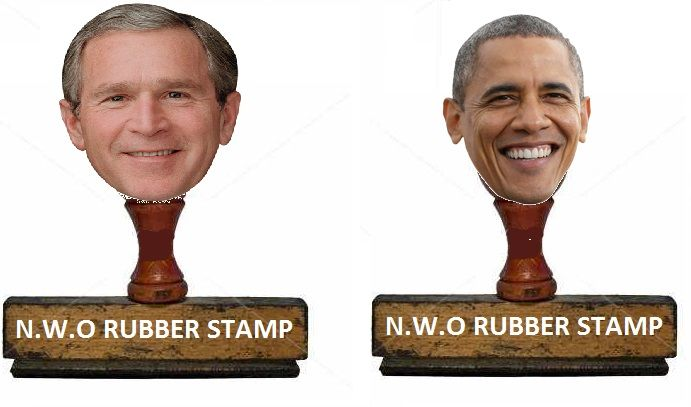 N.W.O RUBBER STAMPS INFOWARS.COM  BECAUSE THERE'S A WAR ON FOR YOUR MIND....So do JEB & Hillary!