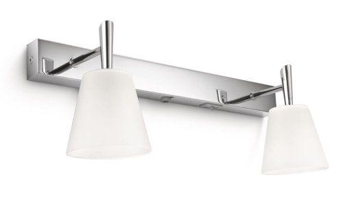 Philips hydrate applique salle de bain métal chrome w