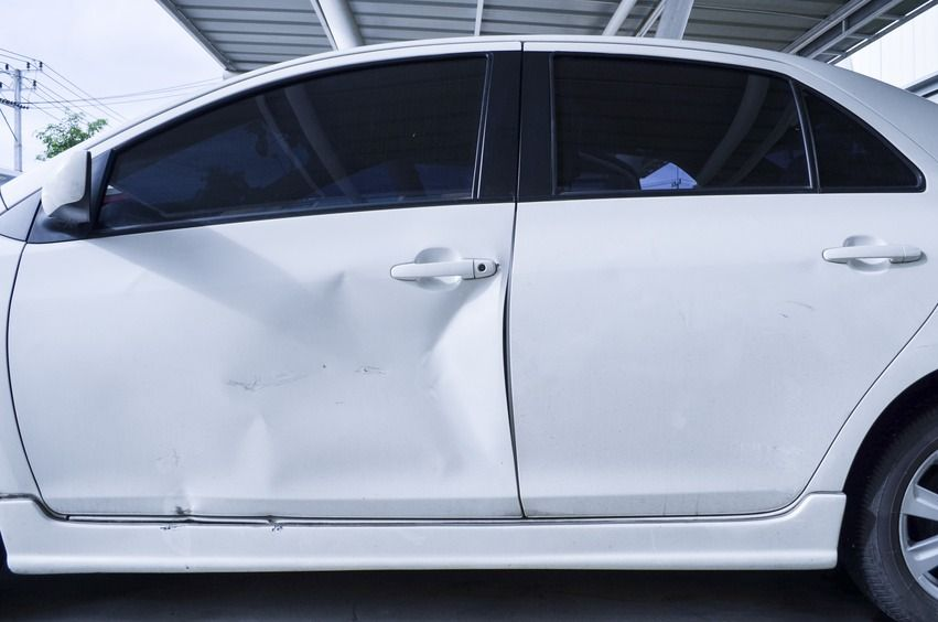 Do you have a dent that looks something like this well