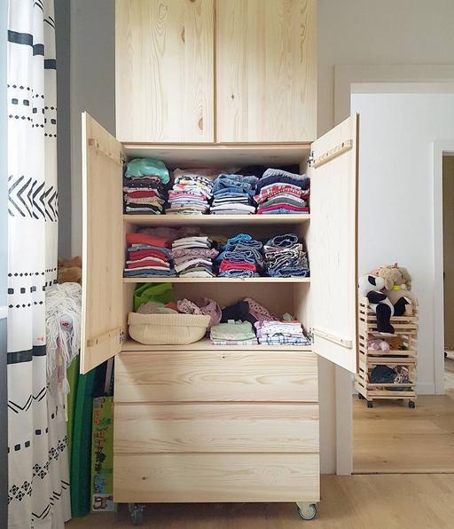 Kleiderschrank ivar kombination bedroom decor - Schrankwand ikea ...