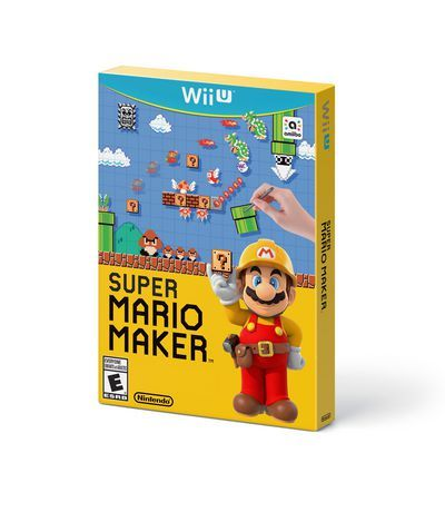 super mario maker nintendo wii u create and play the mario levels of your dreams play a near limitless number of intensely creative super mario levels