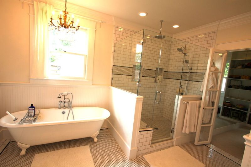 Traditional Bathroom 1920 Craftsman Rehab In Houston Heights
