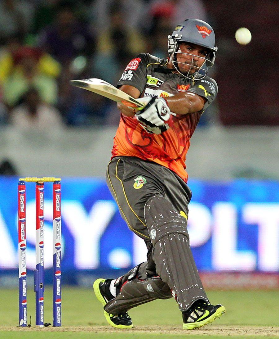 Karan Sharma Batting Champions League T20 Cricket India