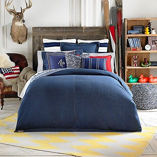 Th Denim Comforter Tommy Hilfiger Usa Denim Comforter Tommy Hilfiger Bedding Comforter Sets