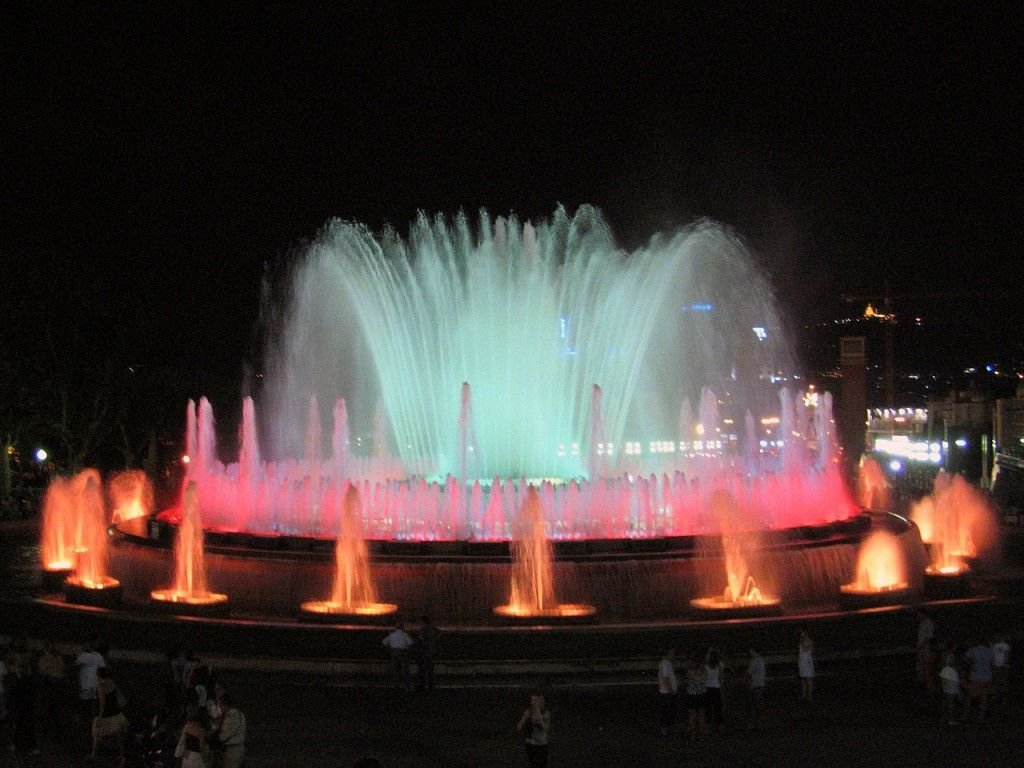 Most Famous Fountains: Magic Fountain of Montjuic, Barcelona