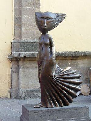 A Jurubeba Cultural:     ● A Arte ... As esculturas urbanas.  (Tlaquepaque,  Jalisco.  México).