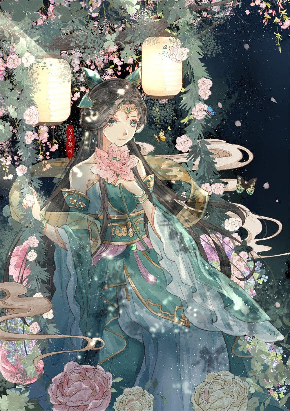 Hình ảnh trong Art Nữ. của Xích Diễm Cố Tích Anime, Kỳ