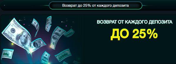 Казино возврат денег казино онлайн рулетка играть бесплатно