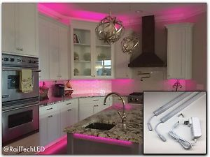 Full Color Kitchen Cabinet Led Lighting 2 20 With Built In