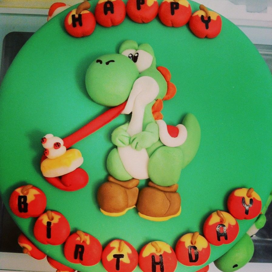 Wondrous Yoshi Birthday Cake Ideas Google Search With Images Dream Funny Birthday Cards Online Necthendildamsfinfo