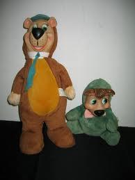 Yogi Bear and boo boo Bear!
