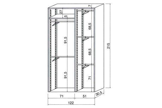 varier les hauteurs chambre 2017 pinterest dressing placard et syst me de rangement. Black Bedroom Furniture Sets. Home Design Ideas