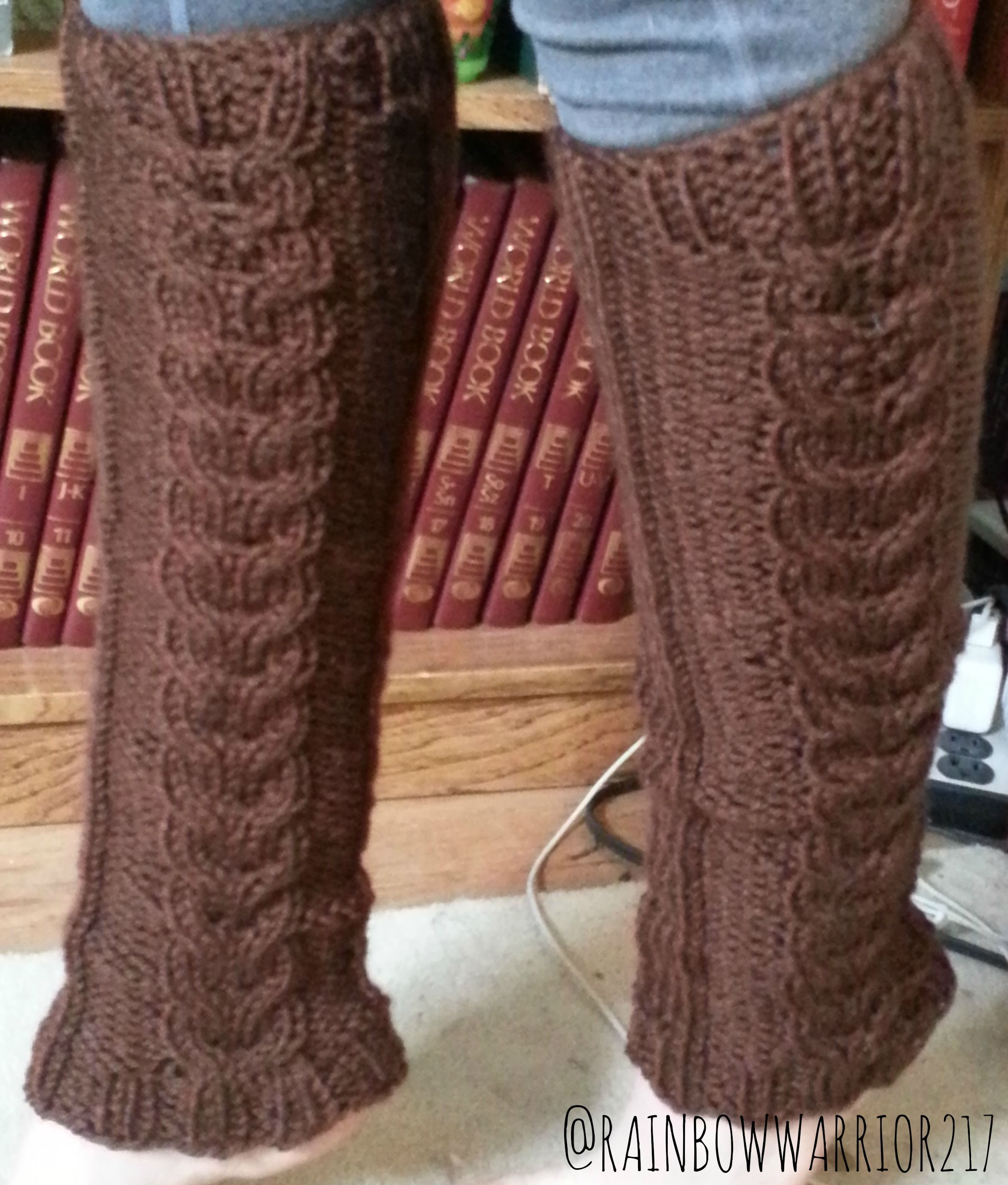 Cozy Cable Leg Warmers | Knit Pattern | Knitted Accessories ...