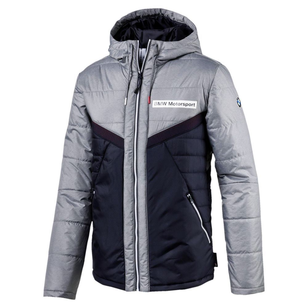 40e1db893466 MENS PUMA BMW MOTORSPORT VENT PADDED POWER WARM VENTILATED JACKET powered  by M  PUMA  ActivewearBomberJacket