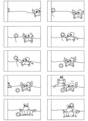 Livre Flip Book Technique De Livre Anime Bricolage La