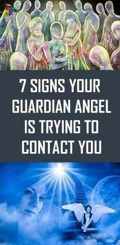 7 Signs Your Guardian Angel Is Trying to Contact You #health #food #healthyfood #homeremedies…