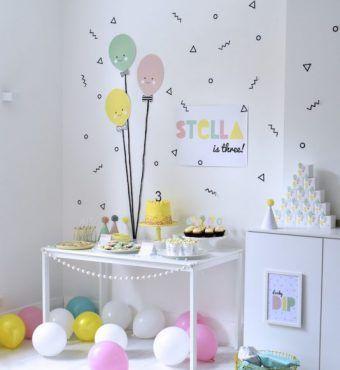 Ideas de decoraci n de fiestas infantiles c mo decorar - Ideas para decorar paredes infantiles ...