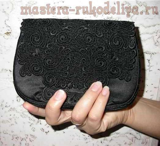 41997bd35379 Мастер-класс: Как сшить клатч своими руками | DIY Bags, purse, pouch ...