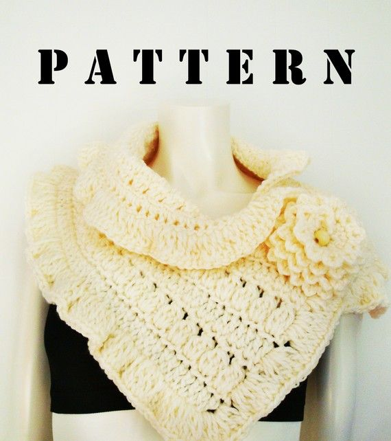 Scarf/cowl pattern - looks kind of oldfashioned but I like something ...