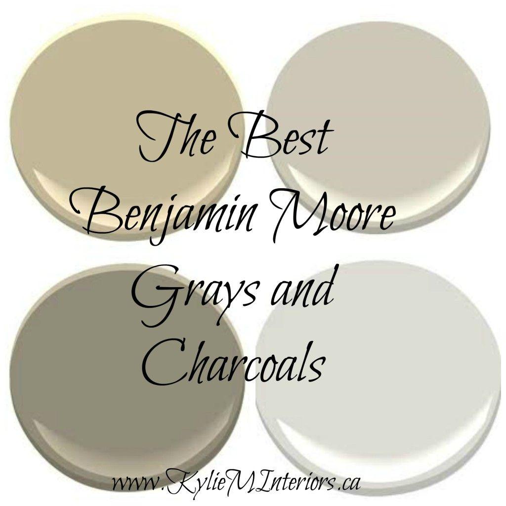 The 9 Best Benjamin Moore Paint Colors Grays Including Undertones Pinterest Benjamin