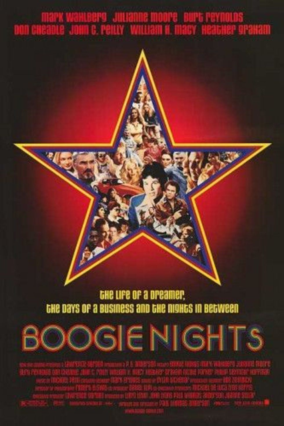 The 40 Coolest Movie Posters Ever Boogie Nights Best Movie