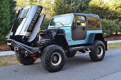 1990 Jeep Wrangler Custom Meticulously Modified Classic 1990 Jeep