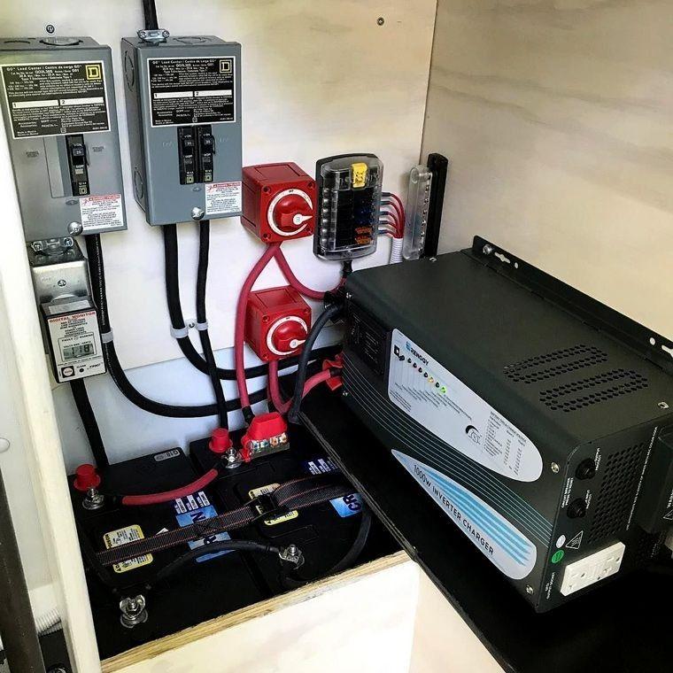 Beste Batterie für Solarspeicher | Solaranlage, Kastenwagen