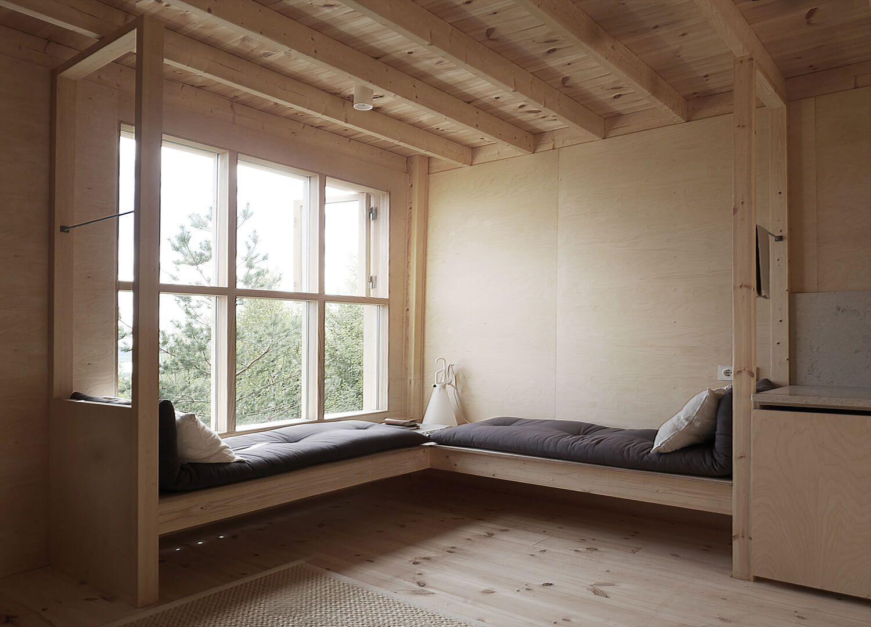 Window seat ideas living room  the bergaliv loft house sweden  est living  styles  nordic