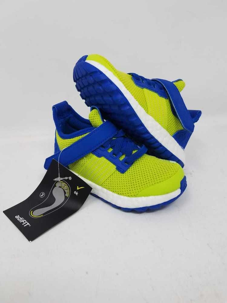 f111f78da135d ADIDAS PUREBOOST ZG I GREEN BLUE AQ5617 RUNNING ATHLETIC TODDLER SIZE 6.5K  NWOB  fashion  clothing  shoes  accessories  babytoddlerclothing  babyshoes  (ebay ...