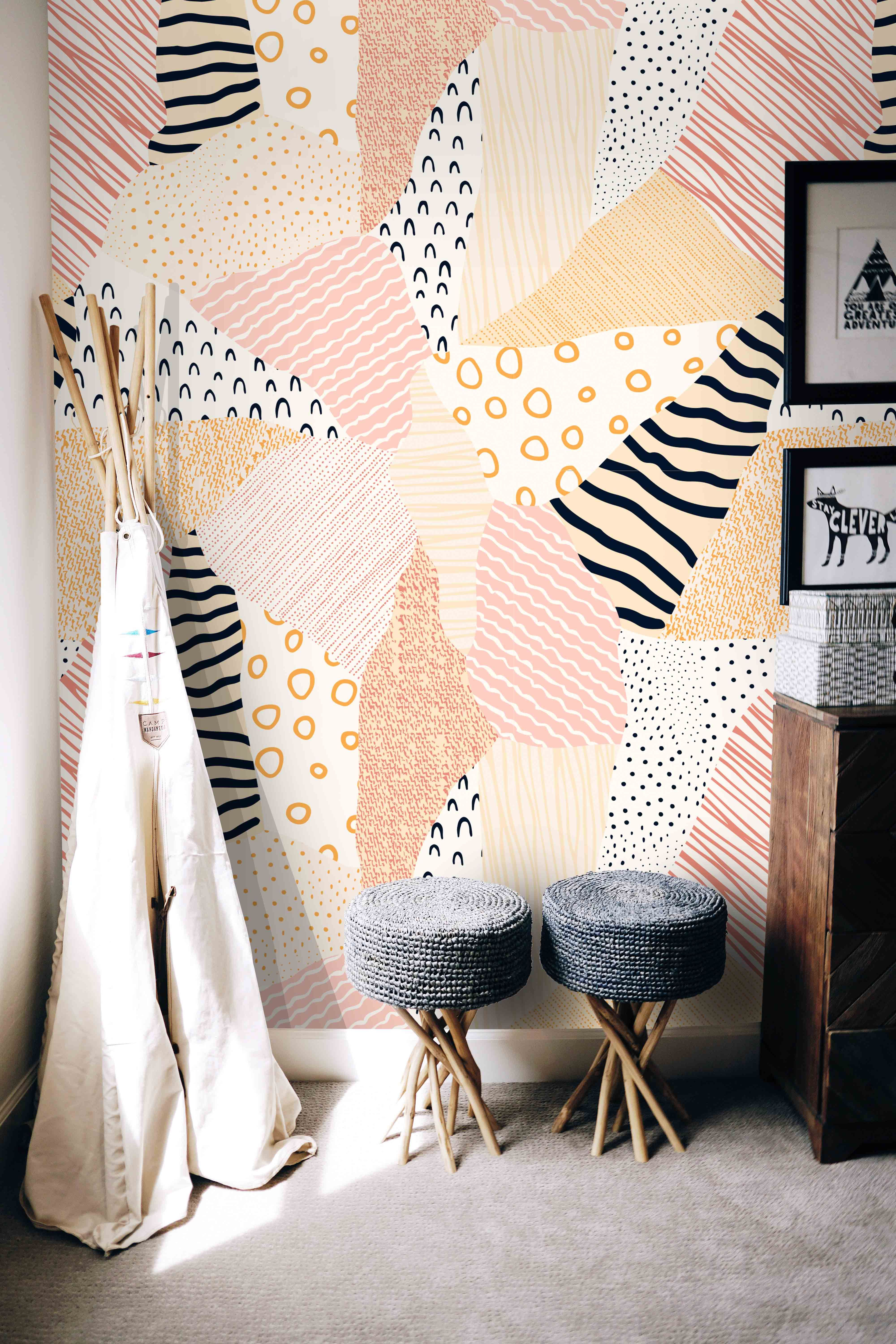 Cute Wall Murals For Home Home Interior Decor Ideas Wallpapers By Green Planet Print House Interior Home Interior Decorating