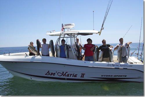 Massachusetts Deep Sea Fishing Charter Boston Fishing