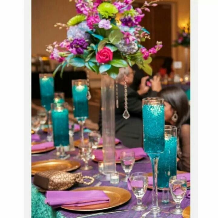 Teal Wedding Ideas For Reception: Wedding Decorations In 2019