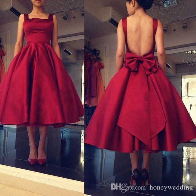 Cheap Short Puffy Homecoming Prom Dresses 2018 Victoria Burgundy ...