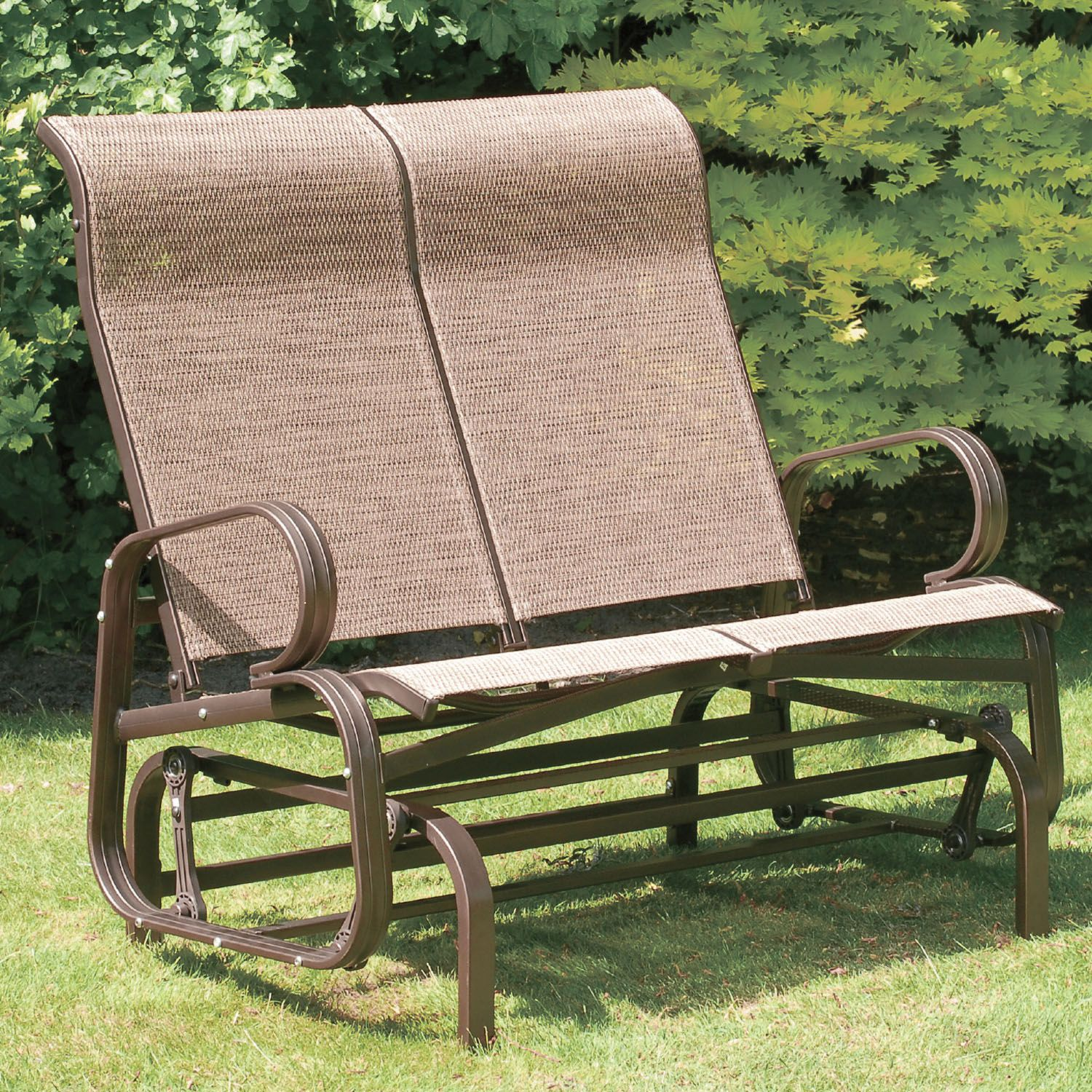 Suntime Havana Bronze Twin Seat Glider – The UK\'s No. 1 Garden ...