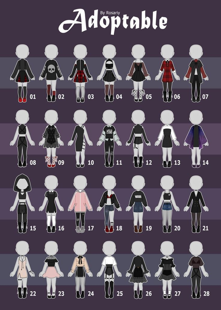 Adopts Casual Casual Outfit Aesthetic Deviantart Open Outfit Rosariy Open 3 28 Casual Ou Drawing Anime Clothes Fashion Design Drawings Drawing Clothes