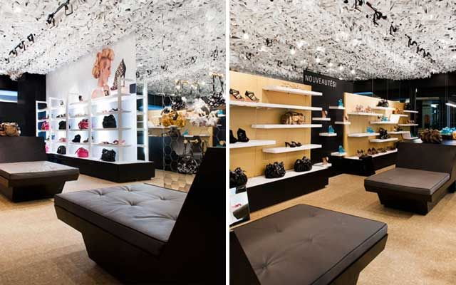 Decoracion zapaterias 62 shoe stores en 2019 pinterest for Disenos de interiores para boutique