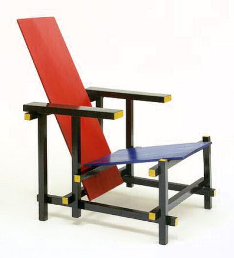 On view de stijl designer gerrit rietveld pinterest for Stuhl designgeschichte