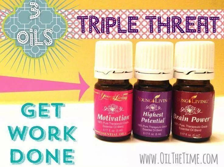 Helpful For Focus And Energy Young Living Essential Oil